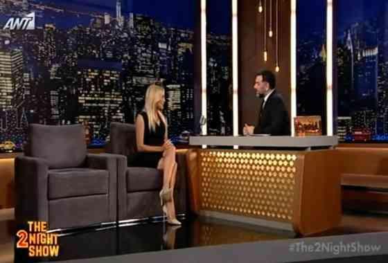 Συνέντευξη στο 2 night show με τον Γρηγόρη Αρναούτογλου.